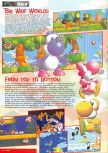 Scan of the review of Yoshi's Story published in the magazine Nintendo Magazine System 62, page 5