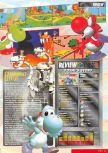 Scan of the review of Yoshi's Story published in the magazine Nintendo Magazine System 62, page 6