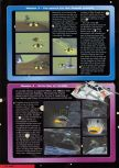 Scan of the walkthrough of Star Wars: Rogue Squadron published in the magazine Nintendo Magazine 75