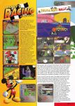 Scan of the preview of South Park Rally published in the magazine Nintendo Magazine 82
