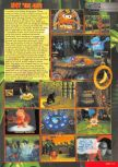 Scan of the review of Donkey Kong 64 published in the magazine Nintendo Magazine 82