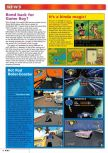 Scan of the preview of Stunt Racer 64 published in the magazine Nintendo Magazine 85