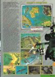 Scan of the walkthrough of Nuclear Strike published in the magazine Nintendo Magazine 85