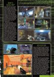 Scan of the preview of Perfect Dark published in the magazine Nintendo Magazine 87