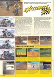 Scan of the preview of Excitebike 64 published in the magazine Nintendo Magazine 87
