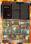 Scan of the walkthrough of Resident Evil 2 published in the magazine Nintendo Magazine 87