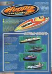 Scan of the walkthrough of Hydro Thunder published in the magazine Nintendo Magazine System 87, page 1
