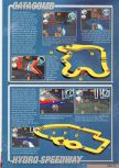 Scan of the walkthrough of Hydro Thunder published in the magazine Nintendo Magazine 87