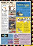 Scan of the preview of Sydney 2000 Olympics published in the magazine Nintendo Magazine 88