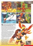 Scan of the preview of Banjo-Tooie published in the magazine Nintendo Magazine 89