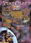 Scan of the review of Starcraft 64 published in the magazine Nintendo Magazine System 89, page 1