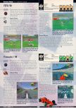 Scan of the review of FIFA 99 published in the magazine GamePro 125