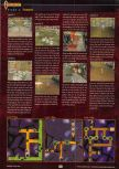 Scan of the walkthrough of Castlevania published in the magazine GamePro 127