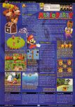Scan of the review of Mario Party published in the magazine GamePro 127