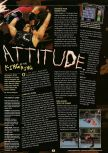 Scan of the preview of WWF Attitude published in the magazine GamePro 130