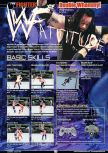 Scan of the walkthrough of WWF Attitude published in the magazine GamePro 131, page 1