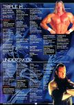 Scan of the walkthrough of WWF Attitude published in the magazine GamePro 131, page 2