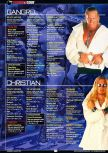 Scan of the walkthrough of WWF Attitude published in the magazine GamePro 131, page 4