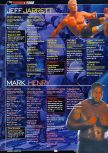 Scan of the walkthrough of WWF Attitude published in the magazine GamePro 131, page 5