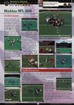 Scan of the preview of Madden NFL 2000 published in the magazine GamePro 132