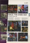 Scan of the preview of Mace: The Dark Age published in the magazine 64 Magazine 06, page 1