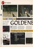 Scan of the review of Goldeneye 007 published in the magazine 64 Magazine 06