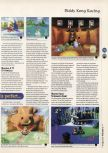 Scan of the review of Diddy Kong Racing published in the magazine 64 Magazine 07, page 6