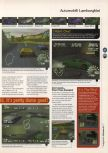 Scan of the review of Automobili Lamborghini published in the magazine 64 Magazine 08