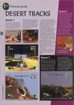 Scan of the walkthrough of Extreme-G published in the magazine 64 Magazine 08