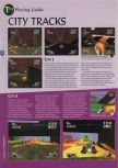 Scan of the walkthrough of Extreme-G published in the magazine 64 Magazine 08, page 5
