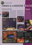 Scan of the walkthrough of Extreme-G published in the magazine 64 Magazine 08, page 7