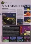 Scan of the walkthrough of Extreme-G published in the magazine 64 Magazine 08, page 9