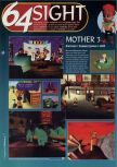 Scan of the preview of Earthbound 64 published in the magazine 64 Magazine 09