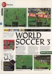 Scan of the review of International Superstar Soccer 64 published in the magazine 64 Magazine 09, page 1