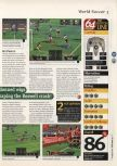 Scan of the review of International Superstar Soccer 64 published in the magazine 64 Magazine 09, page 4