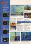 Scan of the review of Aero Fighters Assault published in the magazine 64 Magazine 09