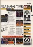 Scan of the review of NBA Hangtime published in the magazine 64 Magazine 02, page 1