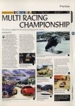 Scan of the preview of Multi Racing Championship published in the magazine 64 Magazine 02, page 1