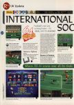 Scan of the review of International Superstar Soccer 64 published in the magazine 64 Magazine 03, page 1