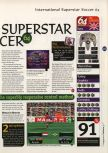 Scan of the review of International Superstar Soccer 64 published in the magazine 64 Magazine 03, page 2