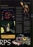 Scan of the walkthrough of Blast Corps published in the magazine 64 Magazine 03, page 2