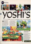 Scan of the preview of Yoshi's Story published in the magazine 64 Magazine 03