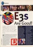 Scan of the article E3s are good published in the magazine 64 Magazine 04, page 1