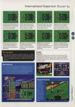 Scan of the walkthrough of International Superstar Soccer 64 published in the magazine 64 Magazine 04, page 4