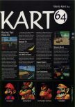Scan of the walkthrough of Mario Kart 64 published in the magazine 64 Magazine 04, page 2