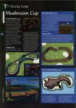 Scan of the walkthrough of Mario Kart 64 published in the magazine 64 Magazine 04