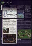 Scan of the walkthrough of Mario Kart 64 published in the magazine 64 Magazine 04, page 5