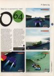 Scan of the preview of F-Zero X published in the magazine 64 Magazine 04