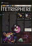 Scan of the preview of Tetrisphere published in the magazine 64 Magazine 04