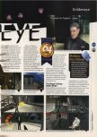 Scan of the review of Goldeneye 007 published in the magazine 64 Magazine 05